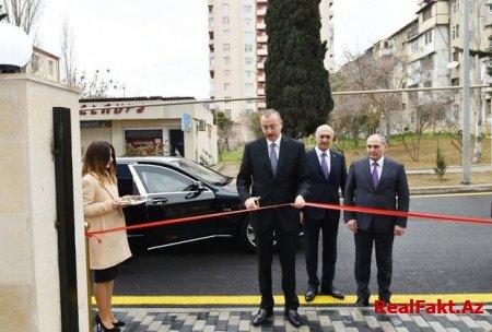 Prezident Bakı Statistika İdarəsinin yeni binasının açılışında