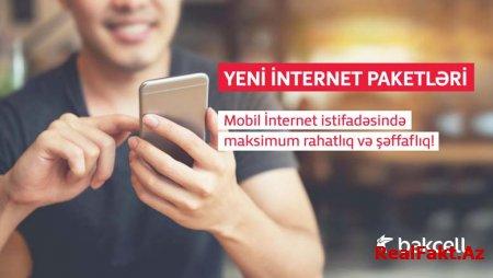 """""""Bakcell""""dən tamamilə yeni İnternet paketləri"""