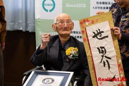 Dünyanın ən yaşlı kişisi vəfat edib