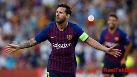 Messi növbəti rekorda imza atdı