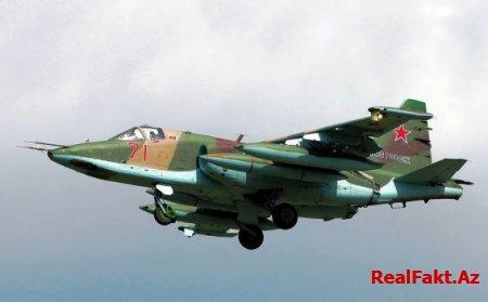 Müdafiə Nazirliyi: Ermənistanın növbəti Su-25 təyyarəsi vuruldu