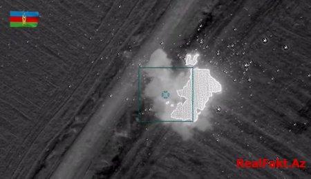 Ermənistan silahlı qüvvələrinin Qubadlı istiqamətindəki bölmələri məhv edilib - VİDEO